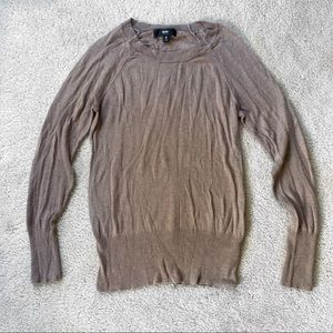 Mossimo Brown Sweater Size S